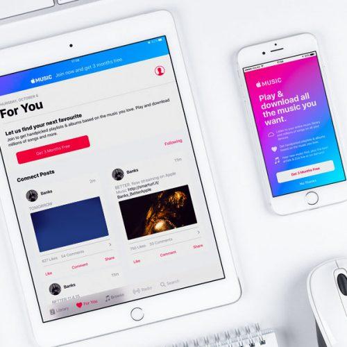 اپل موزیک برای کسب و کار