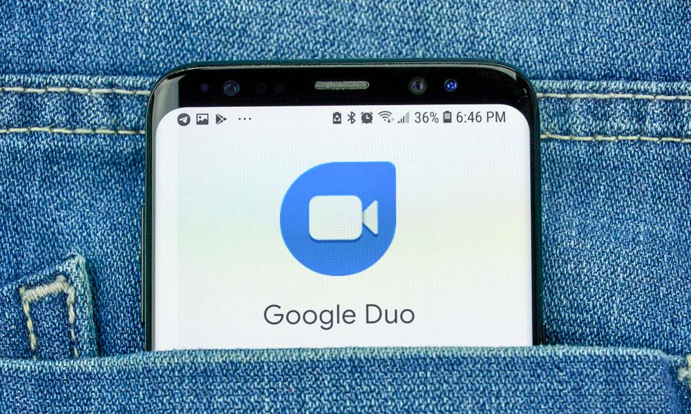 تماس تصویری گوگل