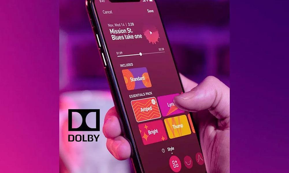 اپلیکیشن دالبی 234 برای کمک به موسیقیدانان توسعه مییابد