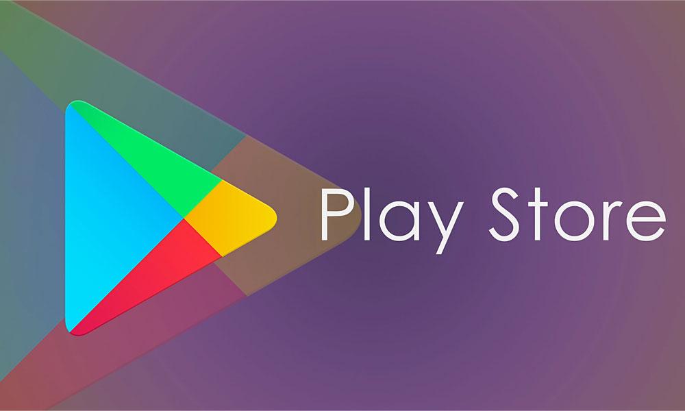 گوگل پلی استور فضای خالی گوشی
