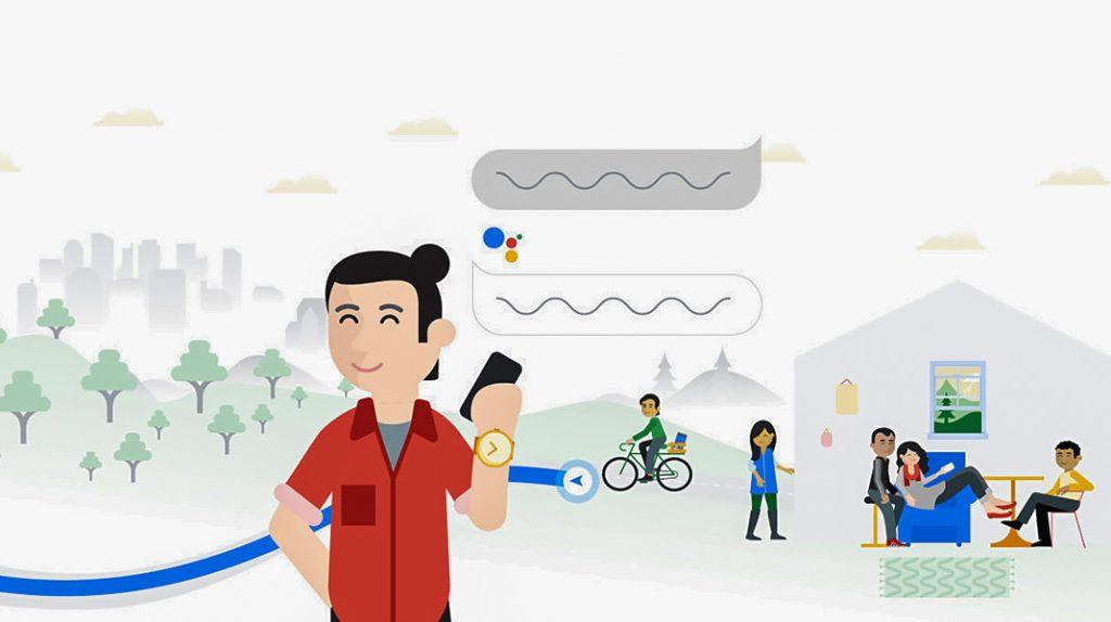 گوگل اسیستنت اپلیکیشن SMS