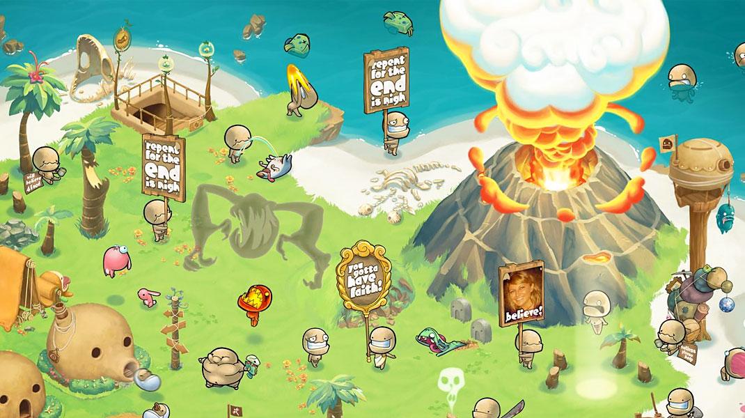 تب مخصوص بازی برای اپلیکیشن موبایل فیسبوک