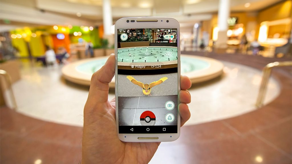 بازی موبایل پوکمون گو