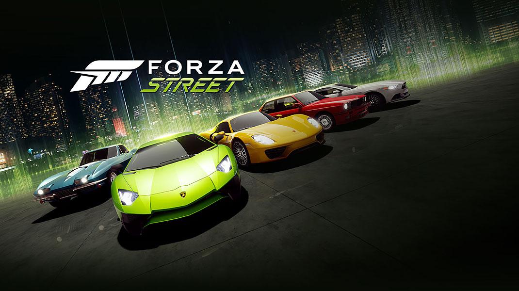 بازی موبایل Forza Street برای اندروید و iOS معرفی شد